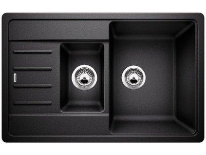 Granitový dřez Blanco LEGRA 6 S Compact Silgranit antracit oboustranné prov. 521302