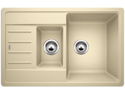 Granitový dřez Blanco LEGRA 6 S Compact Silgranit béžová champagne oboustranné prov. 521306