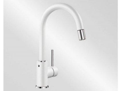 Kuchyňská baterie Blanco MIDA-S Silgranit-look bílá