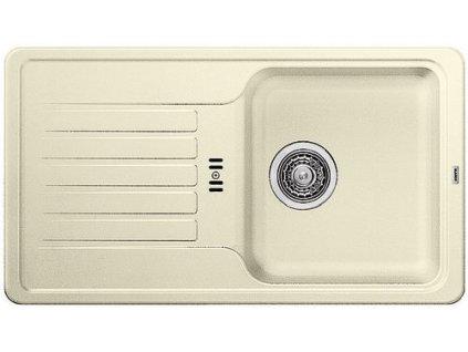 Granitový dřez Blanco FAVOS mini Silgranit jasmín oboustranné provedení 521405