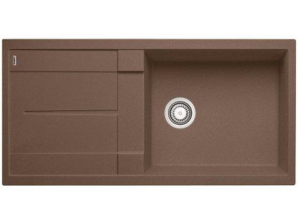 Granitový dřez Blanco METRA XL 6 S Silgranit muškát oboustranné provedení 521895