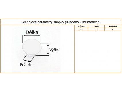 nabytkova porcelanova knopka marita popraskana detail 1