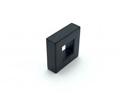 nabytkova knopka quadro cerna