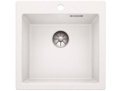 Granitový dřez Blanco PLEON 5 InFino Silgranit bílá 521672