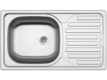 Nerezový dřez Sinks CLASSIC 760 M matný