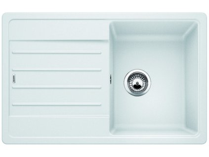 Granitový dřez Blanco LEGRA 45 S Silgranit bílá oboustranné provedení 522203
