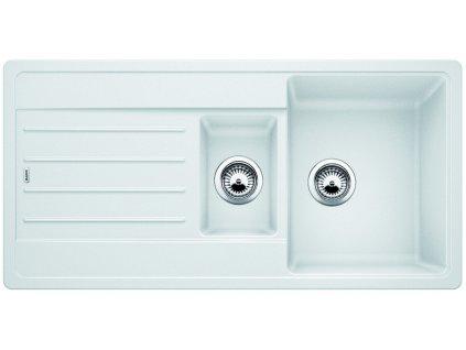 Granitový dřez Blanco LEGRA 6 S Silgranit bílá oboustranné provedení 522209