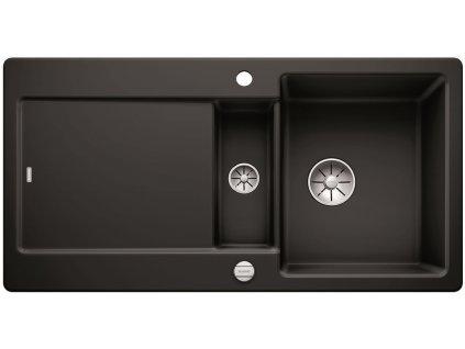 Blanco IDENTO 6 S-F Keramika InFino černá oboustranný s excentrem