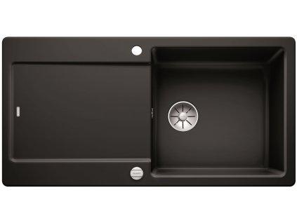 Blanco IDENTO XL 6 S-F Keramika InFino černá oboustranný s excentrem