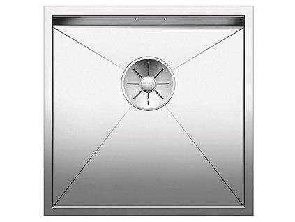 Nerezový dřez Blanco ZEROX 400 IF InFino Nerez hedvábný lesk  bez táhla 521584