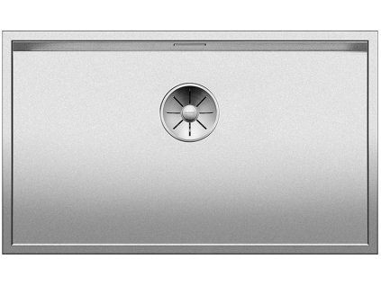 Nerezový dřez Blanco ZEROX 700 U InFino DURINOX bez táhla  C-Overflow 521560