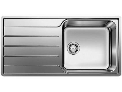 Nerezový dřez Blanco LEMIS XL 6 S-IF nerez kartáčovaný 523034