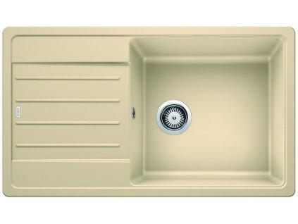 Granitový dřez Blanco LEGRA XL 6 S Silgranit béžová champagne oboustranné provedení 523330