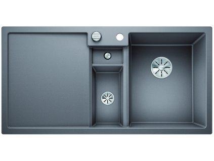 Granitový dřez Blanco COLLECTIS 6 S InFino Silgranit aluminium dřez vpravo s excentrem přísluš. ano 523346