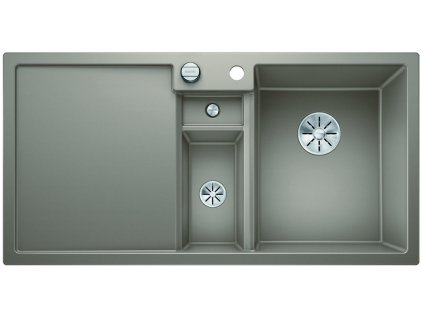 Granitový dřez Blanco COLLECTIS 6 S InFino Silgranit tartufo dřez vpravo s excentrem přísluš. ano 523351