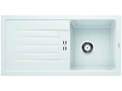 Granitový dřez Blanco FAVUM 45 S Silgranit bílá oboustranné provedení 524229