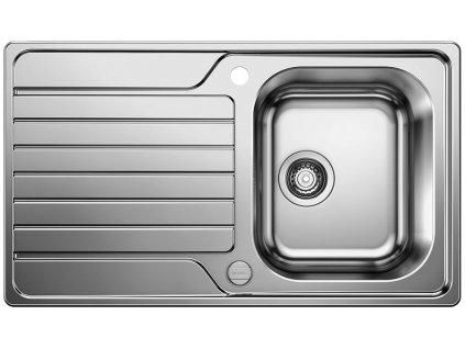 Nerezový dřez Blanco DINAS 45 S nerez kartáčovaný s excentrem 523378