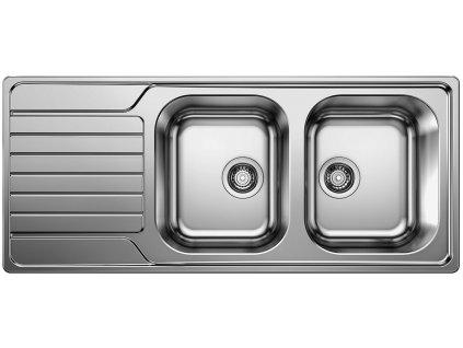 Nerezový dřez Blanco DINAS 8 S nerez kartáčovaný 523376