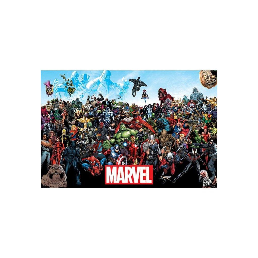 plakat marvel universe 5f1ae2af61d89