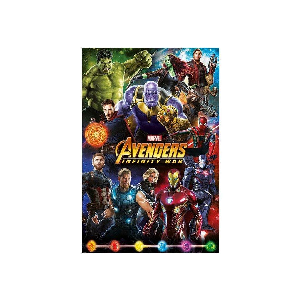 plakat avengers infinity war postavy 5f2cedc2ded42