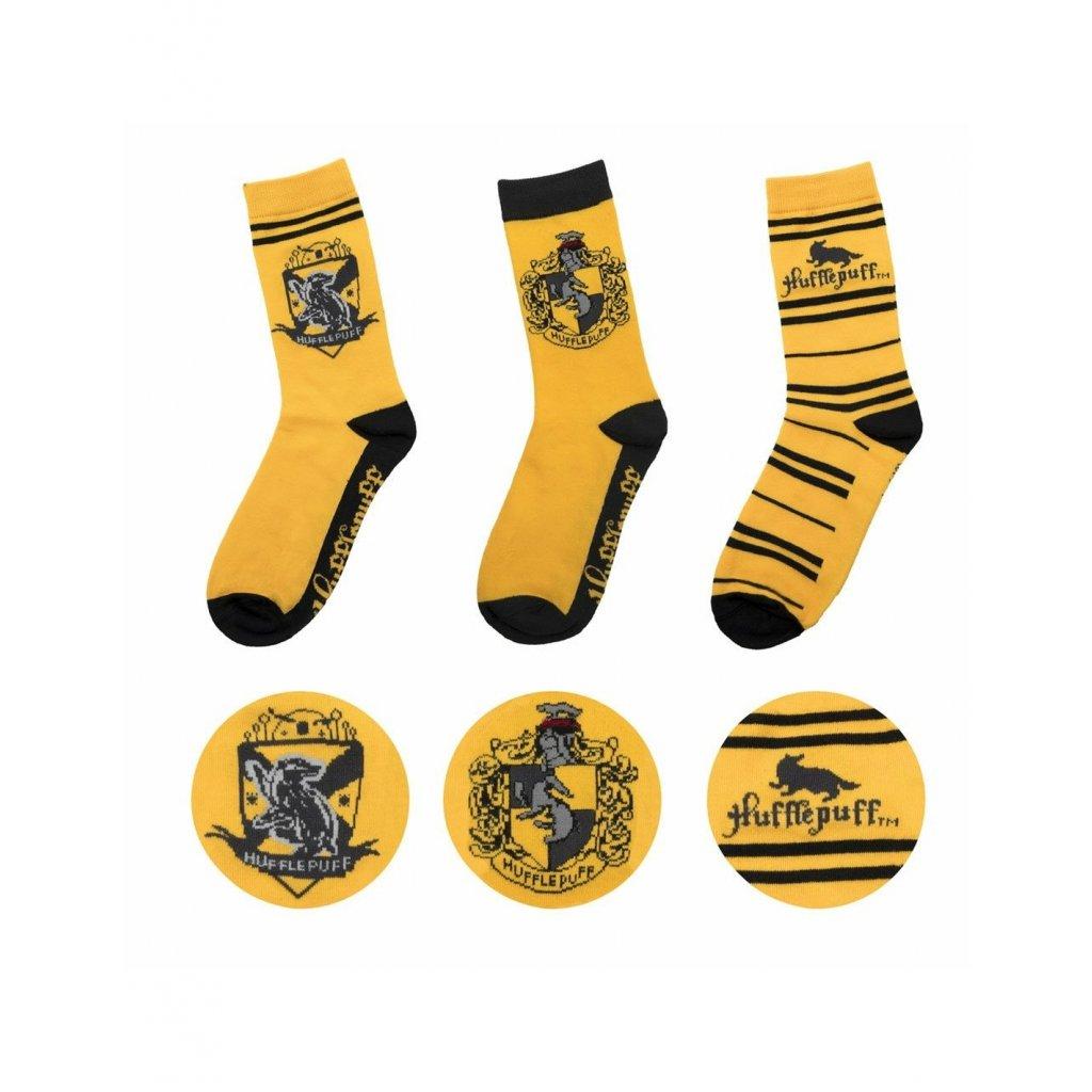 harry potter socks 3 pack hufflepuff