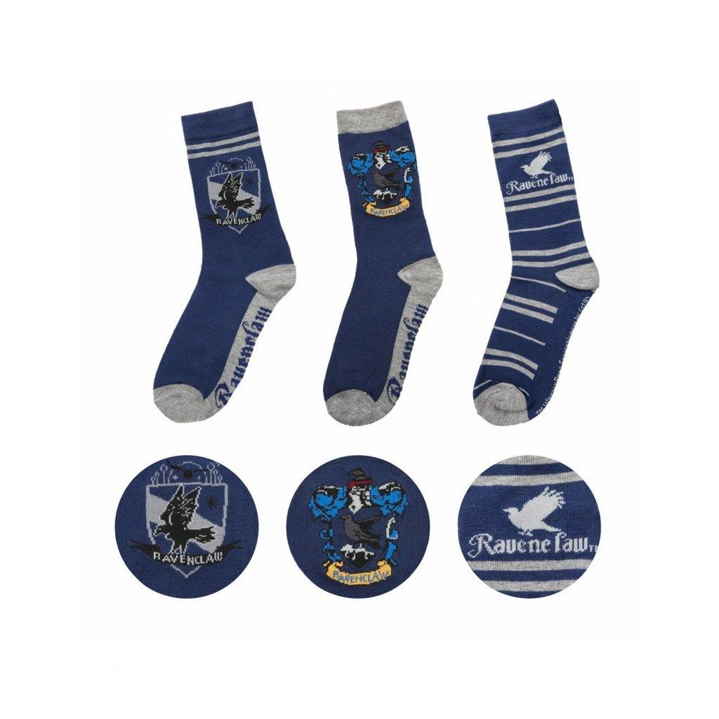 harry potter socks 3 pack ravenclaw
