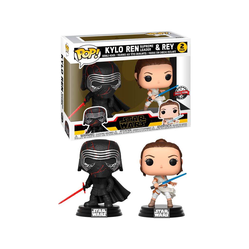 POP pack 2 figures Star Wars Rise of Skywalker Kylo and Rey Exclusive