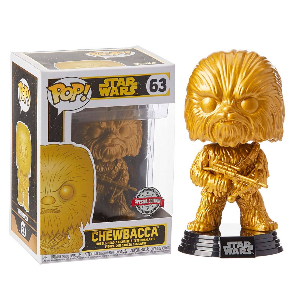 POP figure Star Wars Chewbacca Exclusive 2