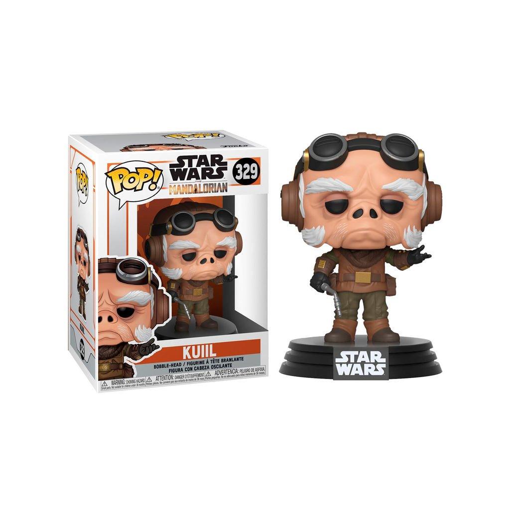 POP figure Star Wars Mandalorian Kuiil 1