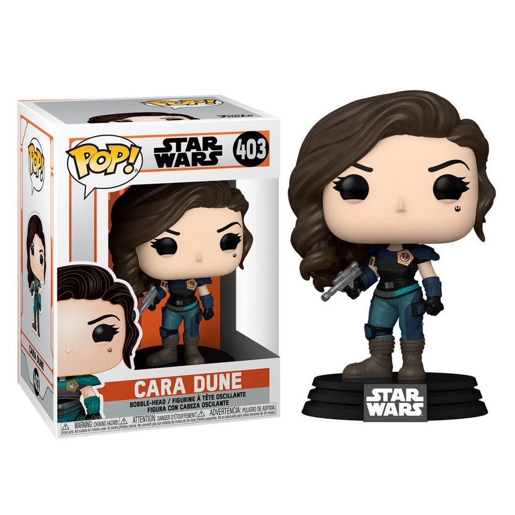 POP figure Star Wars The Mandalorian Cara Dune 1