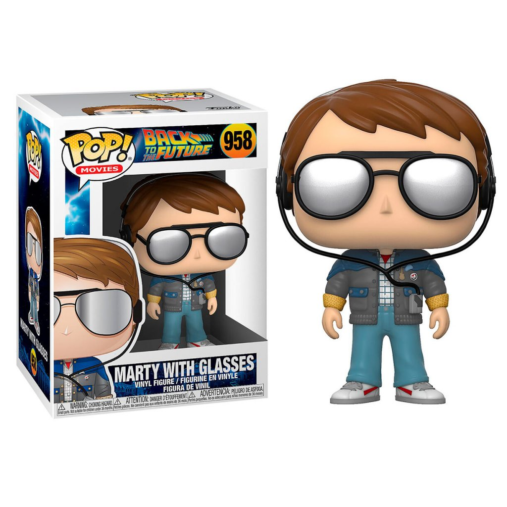 POP figure Back To The Future Doc Marty with Glasses 1