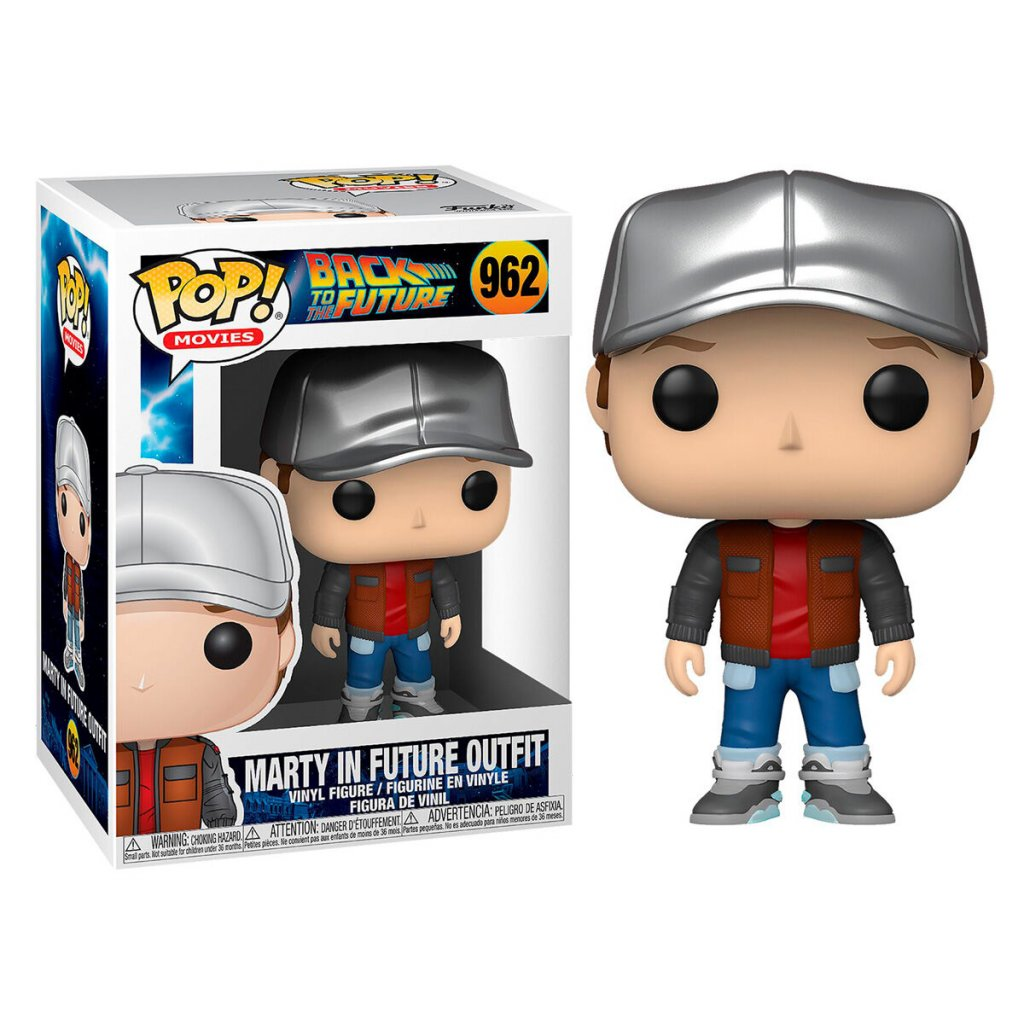 POP figure Back To The Future Doc Marty in Future Outfit 1