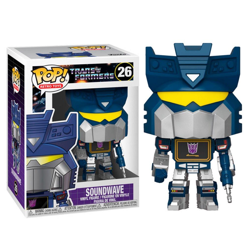 POP figure Transformers Soundwave 1