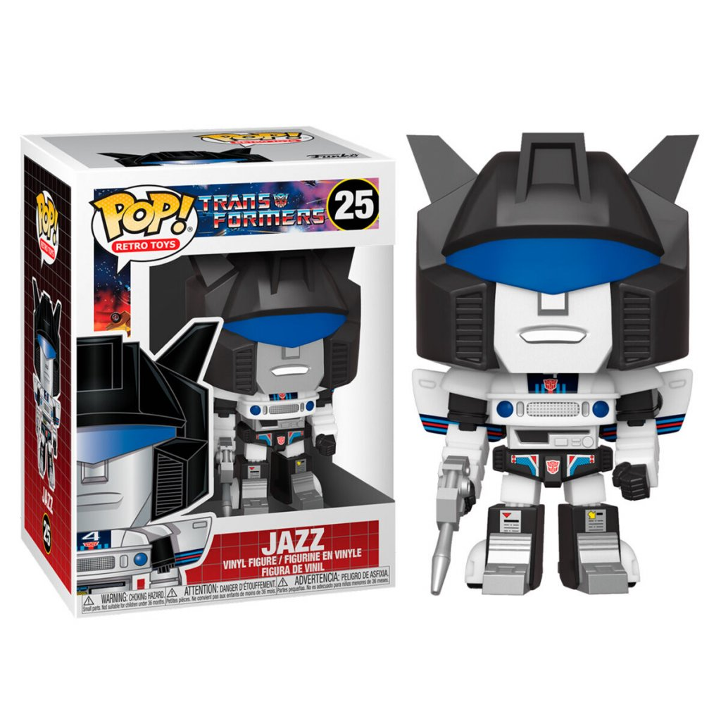 POP figure Transformers Jazz 1