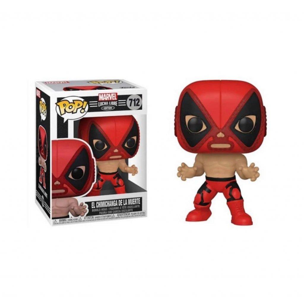 MarvelLuchaLibreFunkoPop ElChimichangaDeLaMuerte Deadpool Pre Order 1800x1800