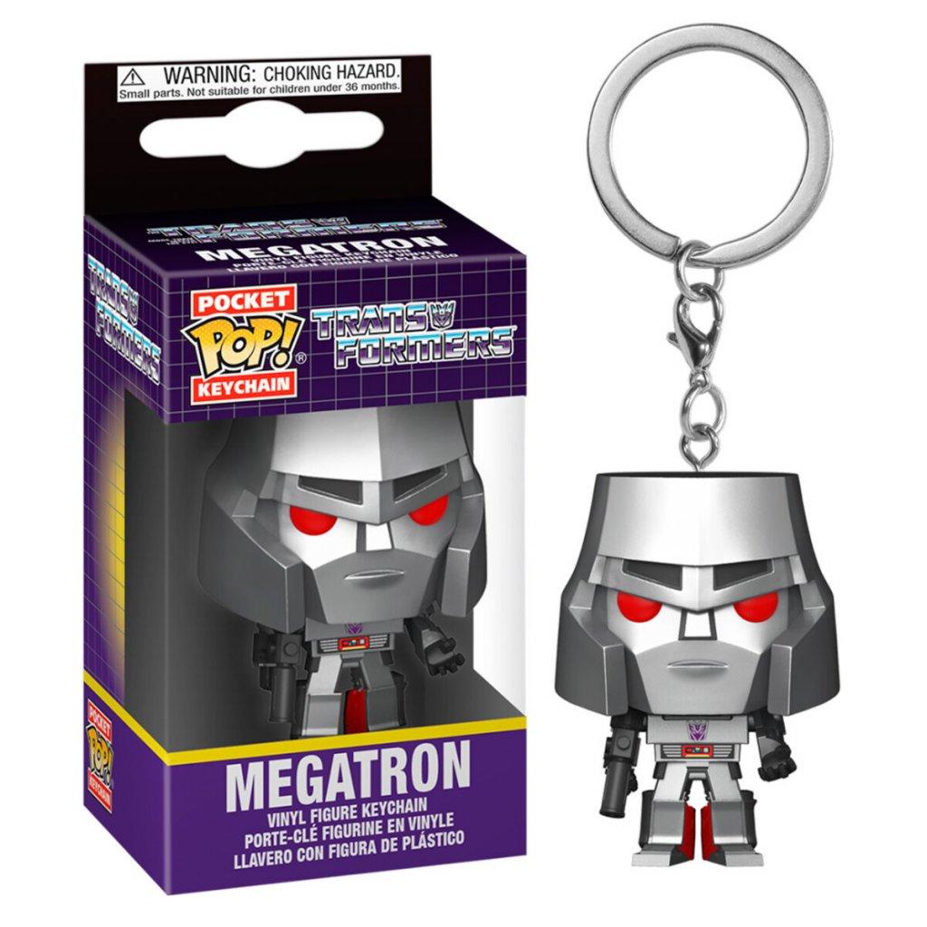 Pocket POP keychain Transformers Megatron 1