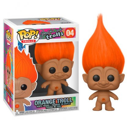 POP figure Trolls Orange Troll 1