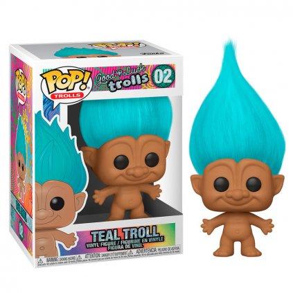 POP figure Trolls Teal Troll 1