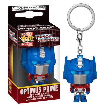 Pocket POP keychain Transformers Optimus Prime 1