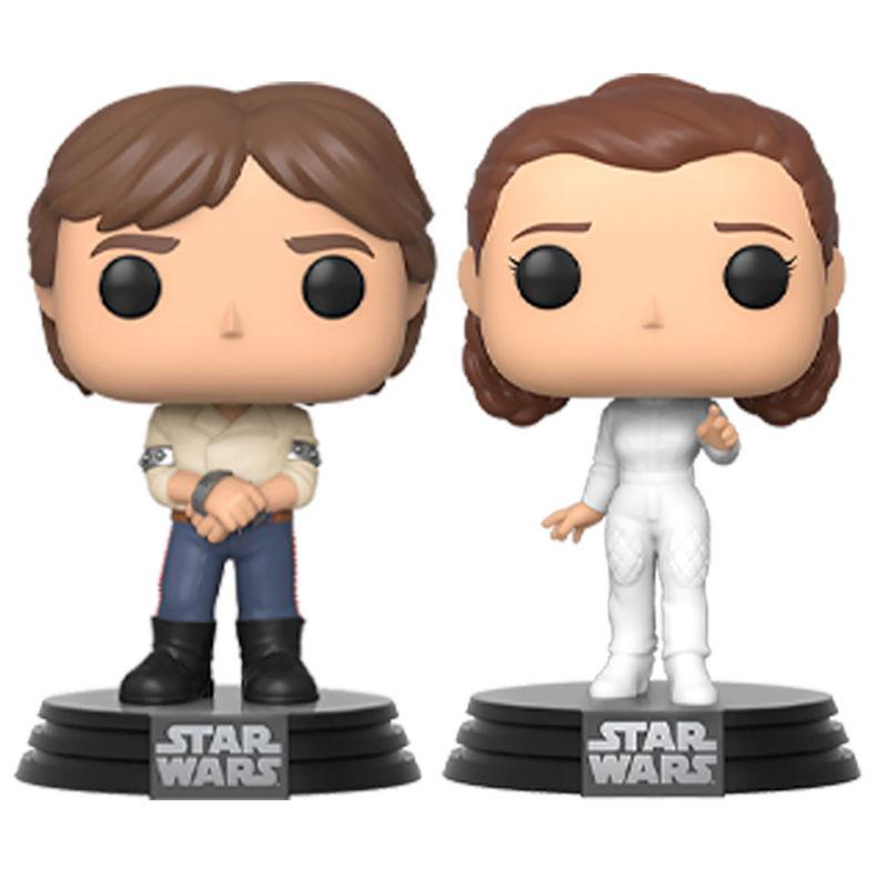 Funko POP! Star Wars: Han & Leia Funko POP!