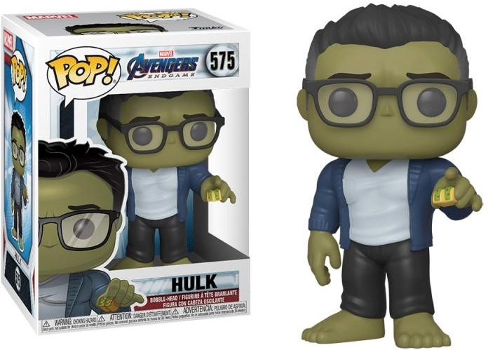 Funko POP! Marvel Avengers: Avengers Endgame Hulk with Taco Funko POP!