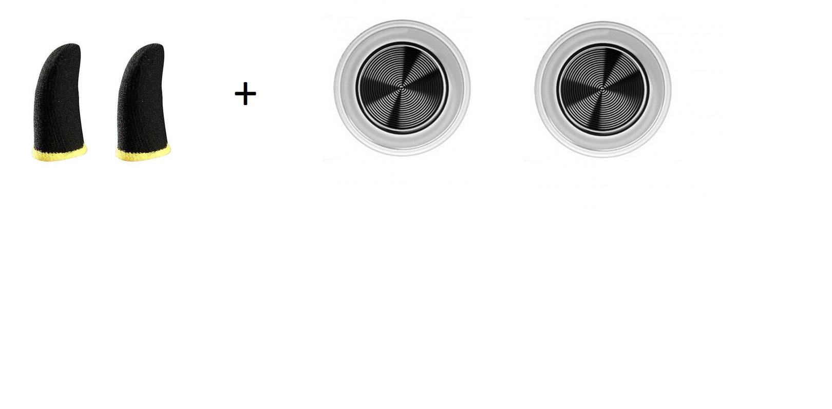 Mobilní herní set (návleky+joysticky)