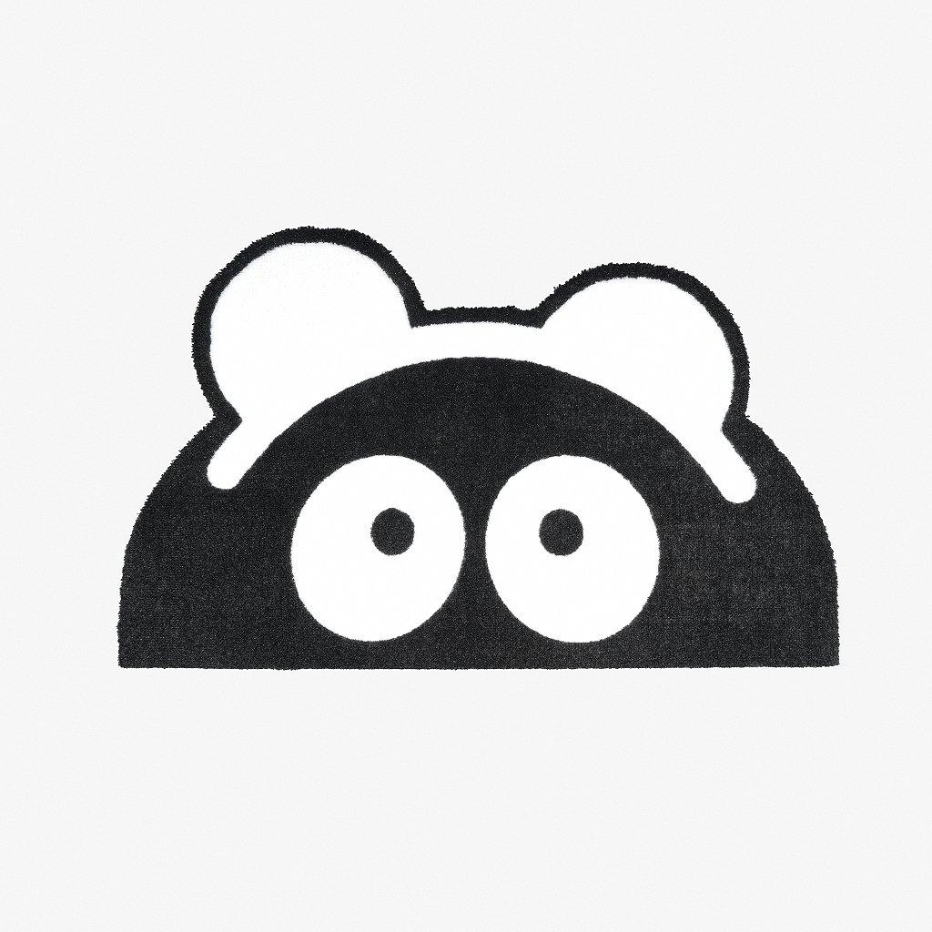 Panda doormat 01