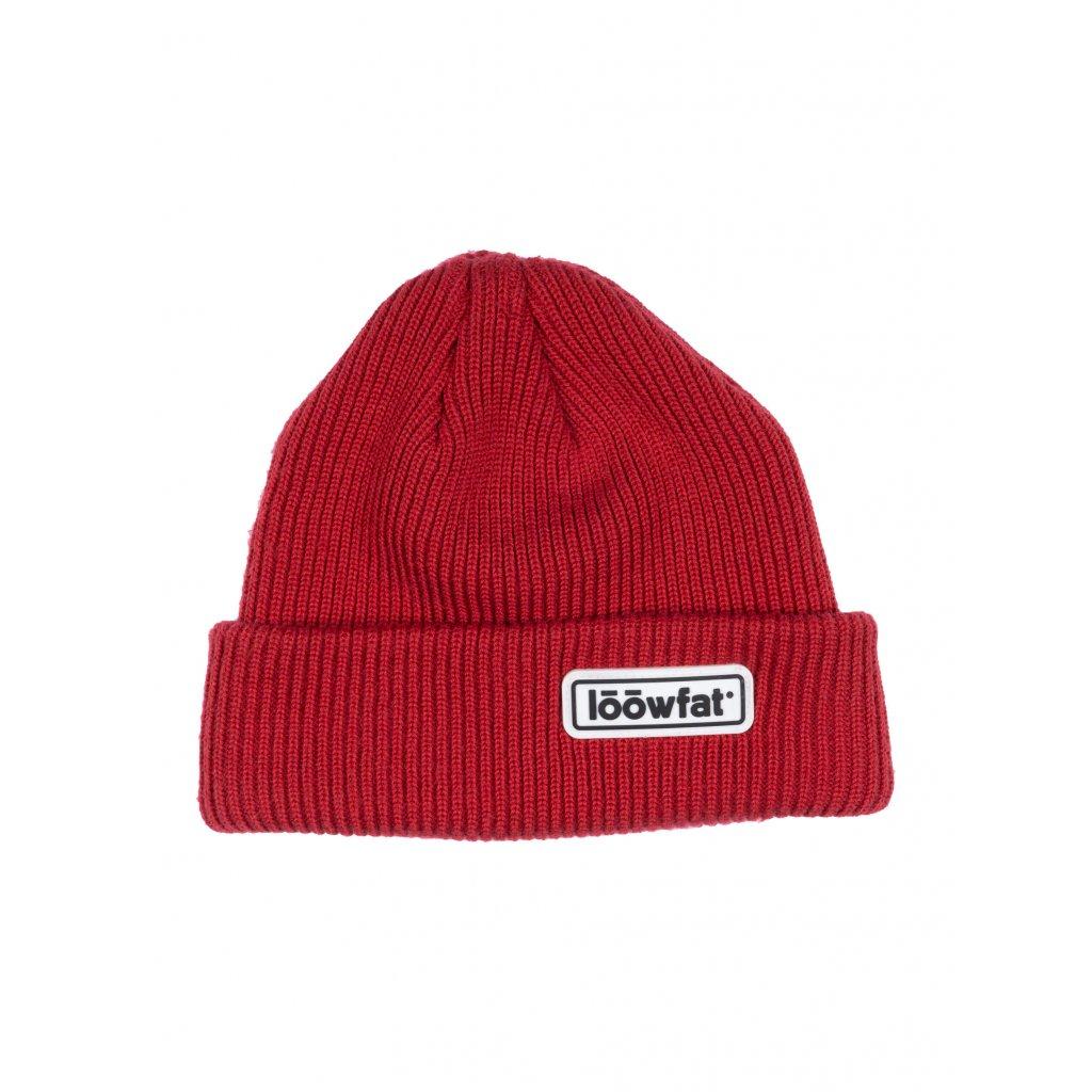 Zimni cepice BASIC Red 01