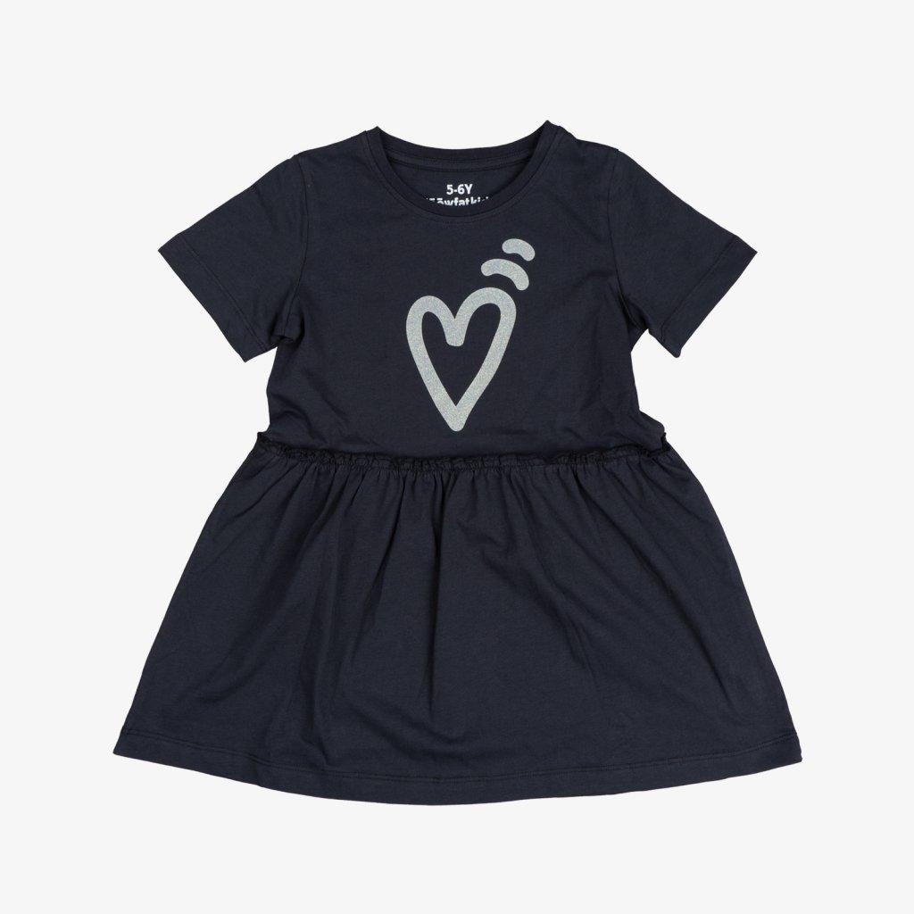 Tee Dress Mala Black 01