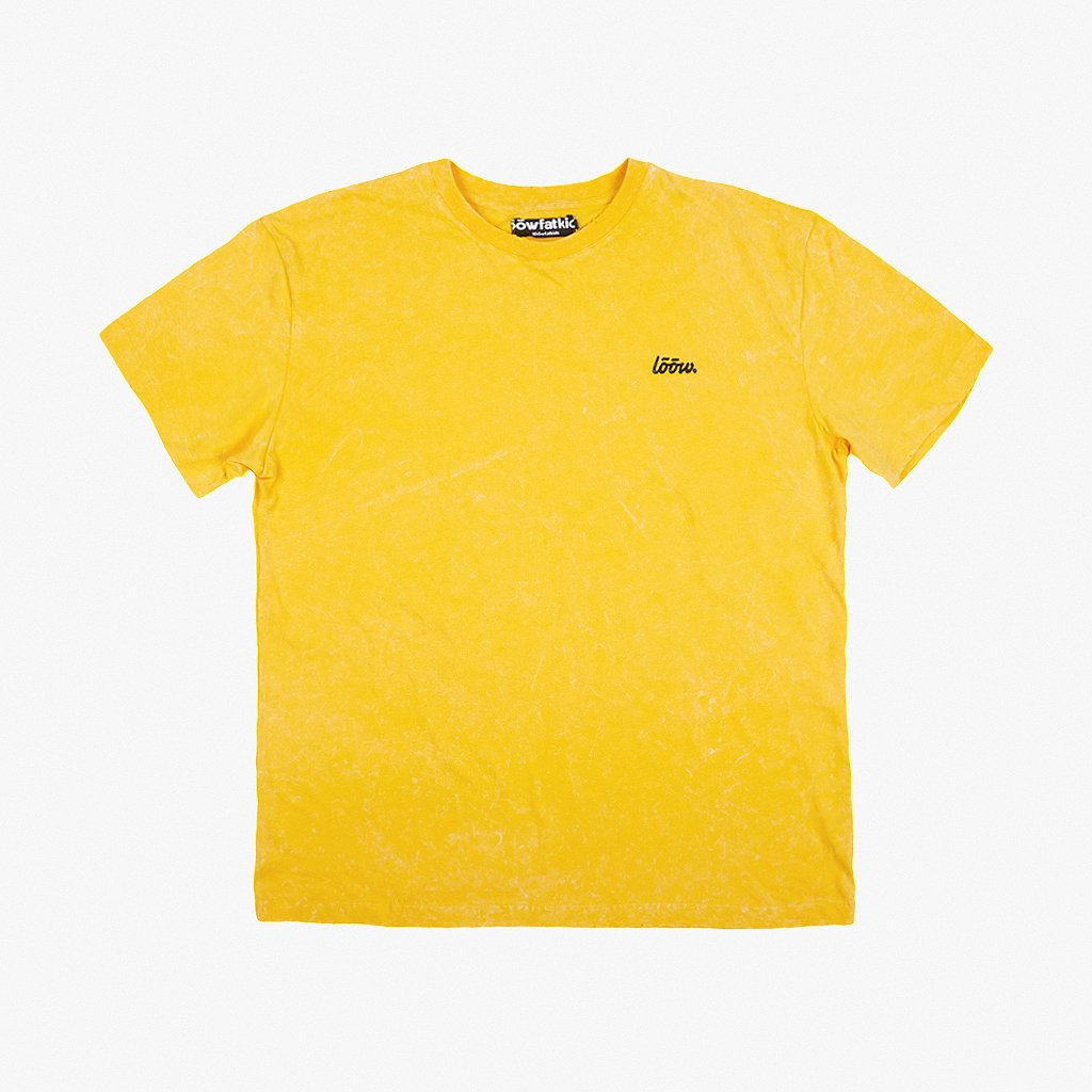 19 tee yellow F