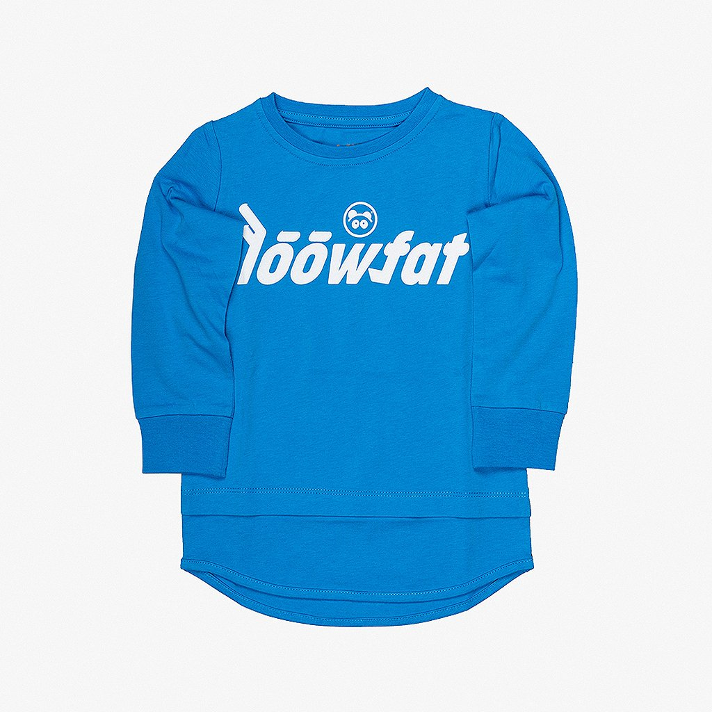 KIDS Si bling Mood T shirt BLUE 01