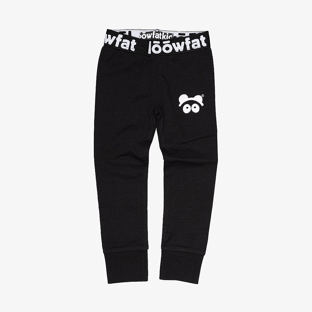 KIDS PullUP Leggings BLK 01