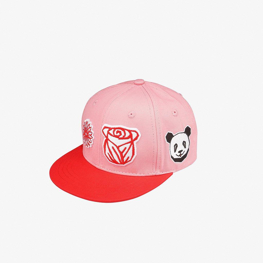 G flower Snapback Pink 01