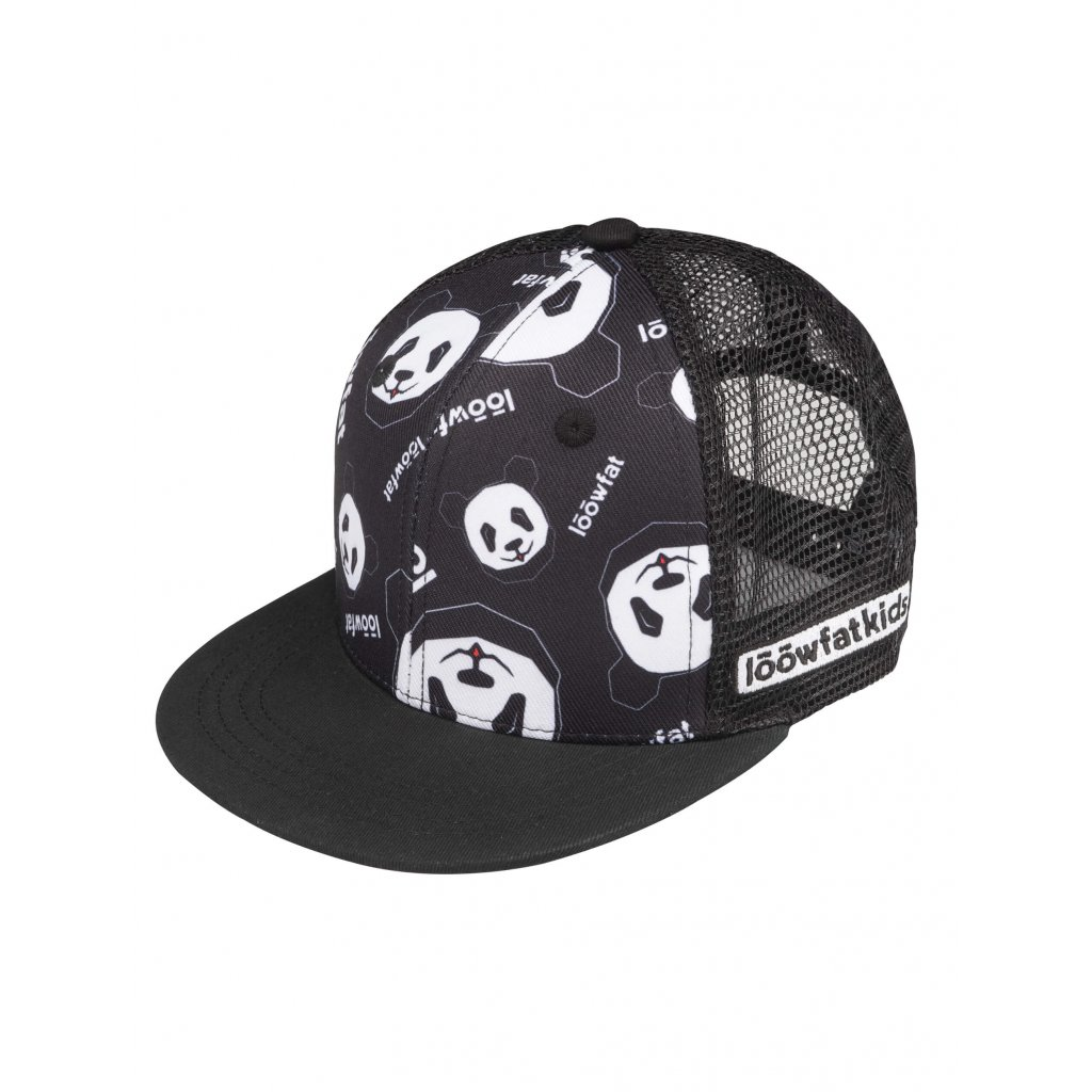 AOP Trucker hat Black 01